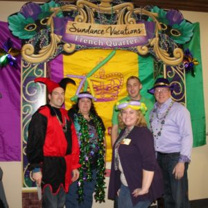 Sundance Vacations 2014 Mardi Gras Party