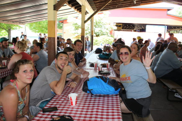 Sundance Vacations Employees, Family, and Friends visit Dorney Park