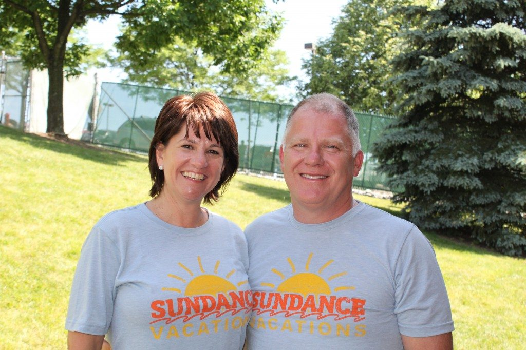 Tina and John Dowd - Owners of Sundance Vacations at Dorney Park