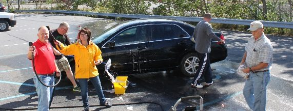 National Customer Service Week: Washout Wednesday