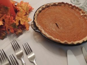 Don't forget to get the ingredients for your favorite pumpkin pie!