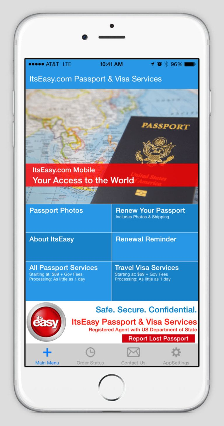 ItsEasy Passport App Main Screen - Sundance Vacations Blog