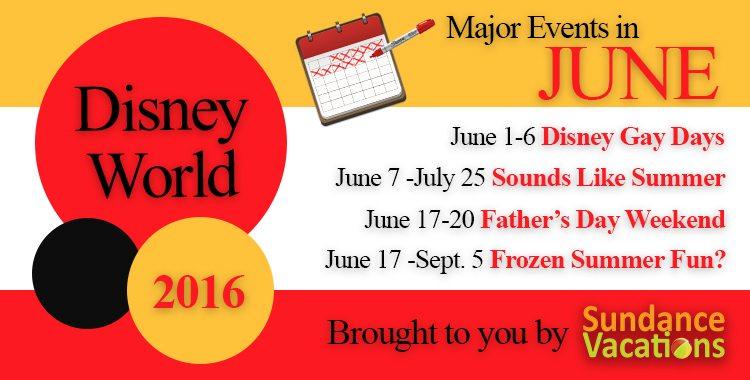 sundance vacations; sundance vacations blog; disney events; disney crowds june;disney world june; things to do in disney june;