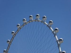 The Las Vegas High Roller Wheel at the LINQ Resort and Casino is one of Vegas' newest, and tallest, attractions.