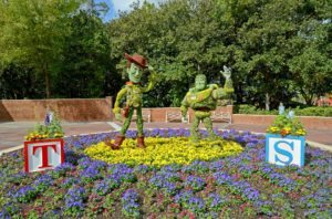 You'll soon get to see Woody and Buzz at more than just the Botanical Garden Display at Disney!