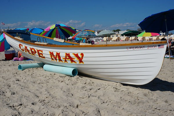 Summer in Wildwood and Cape May, New Jersey